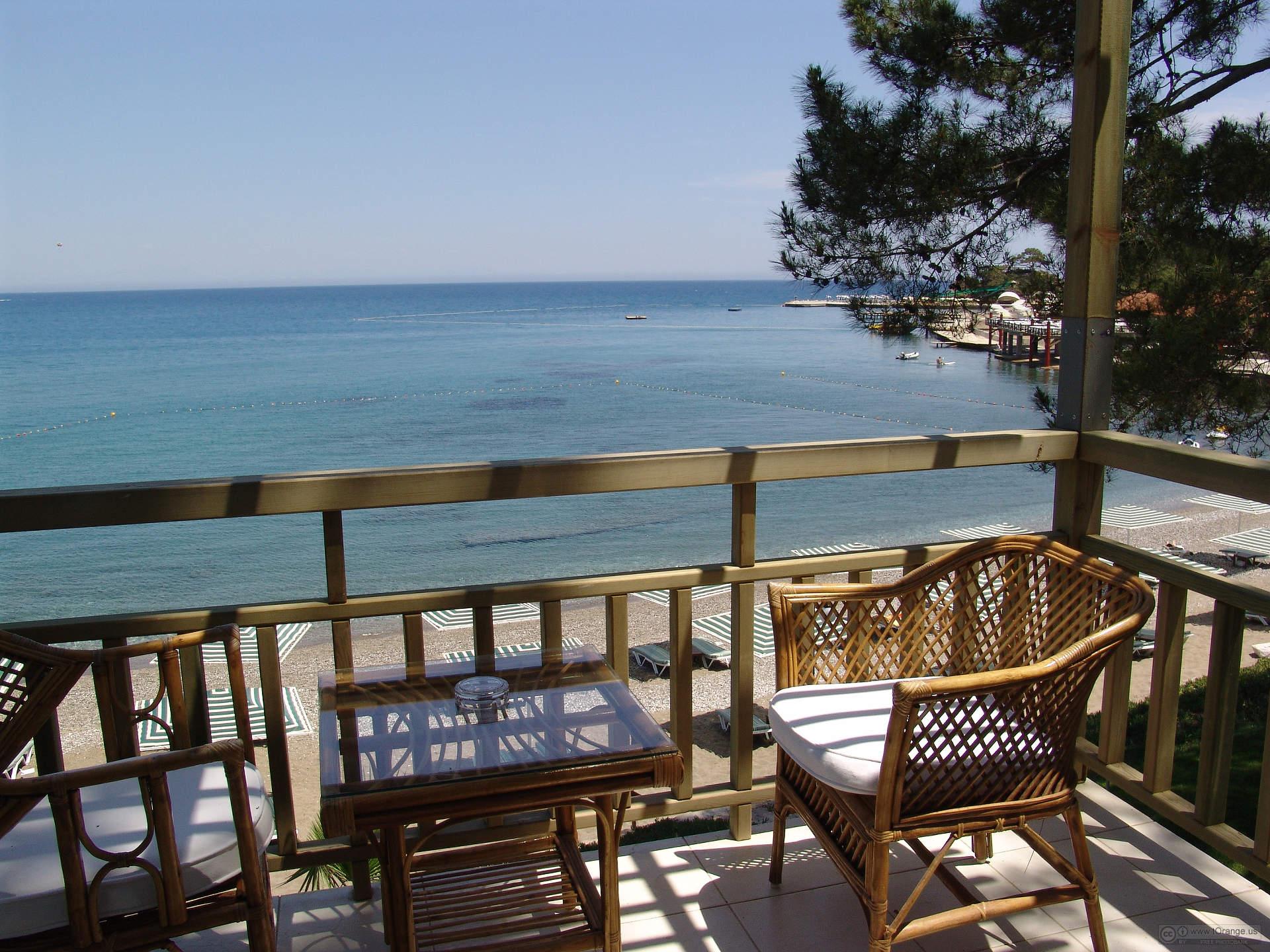 Number  Hotel   views  at  sea.