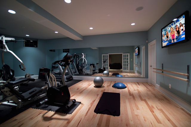How to build an affordable home gym i live up