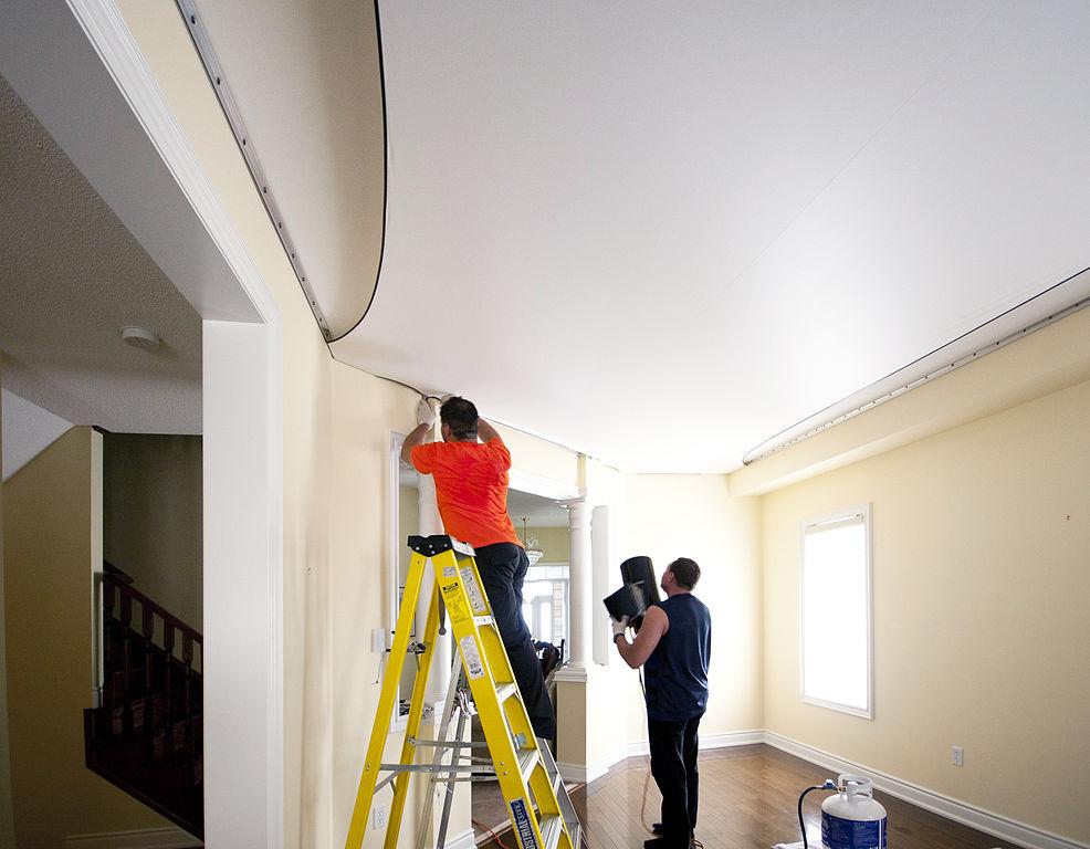 Stretch_Ceiling_Installation