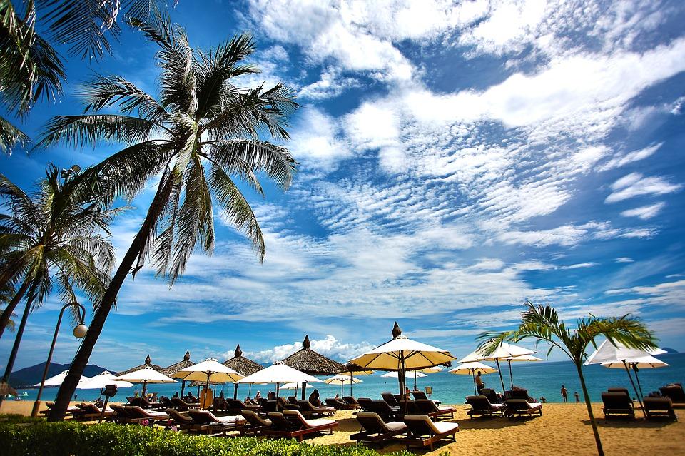 Resort Vacation Summer Ocean Beach Travel Sea